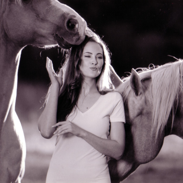 Jody With Horses